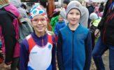 Amálka Posltová a David Novotný naši nejmladší účastníci