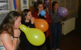 dámy s balonkama